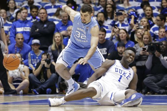 Duke Zion Williamson injured AP