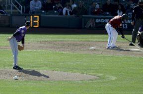MLB spring training pitch clock
