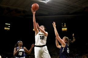 IOWA WBB VS ORAL ROBERTS