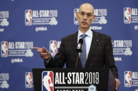 NBA Adam Silver AP