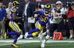 Patriots Rob Gronkowski Super Bowl catch