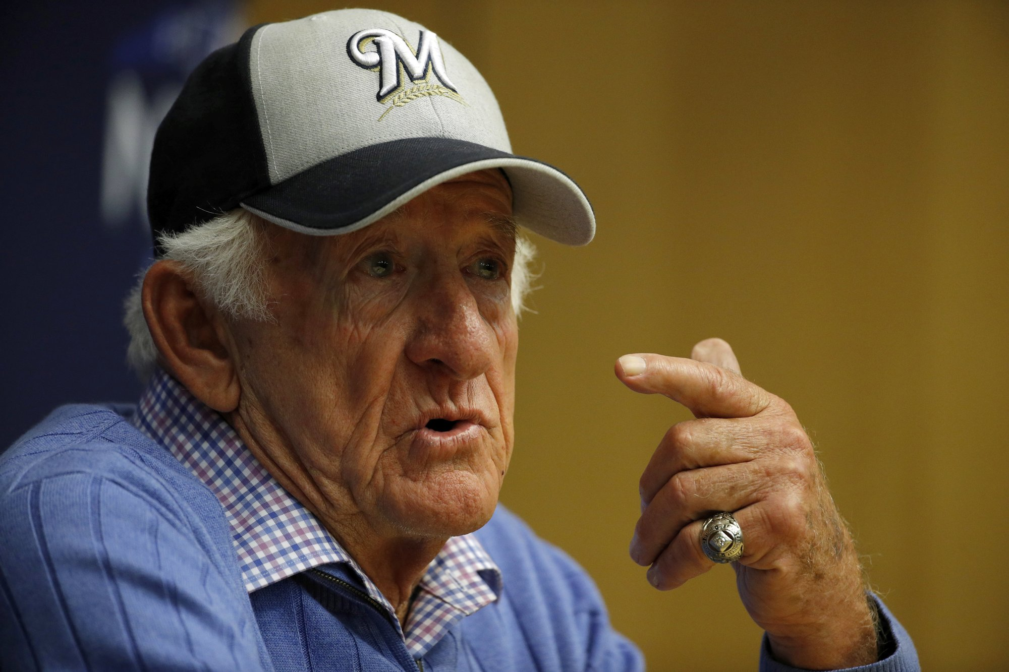 Woodruff to start for Brewers; Uecker on call tonight on WKTY
