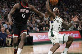 Bucks Bledsoe Rockets Capela AP