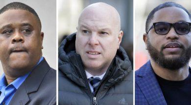 College basketball recruiting scandal mugs
