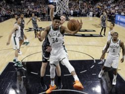 Giannis v Spurs AP