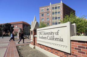 USC campus AP