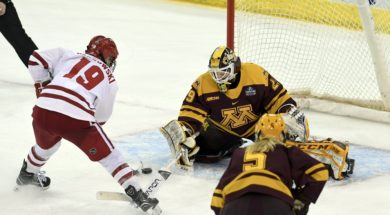 Wisconsin Minnesota womens hockey AP