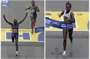 Boston Marathon winners 2019 AP