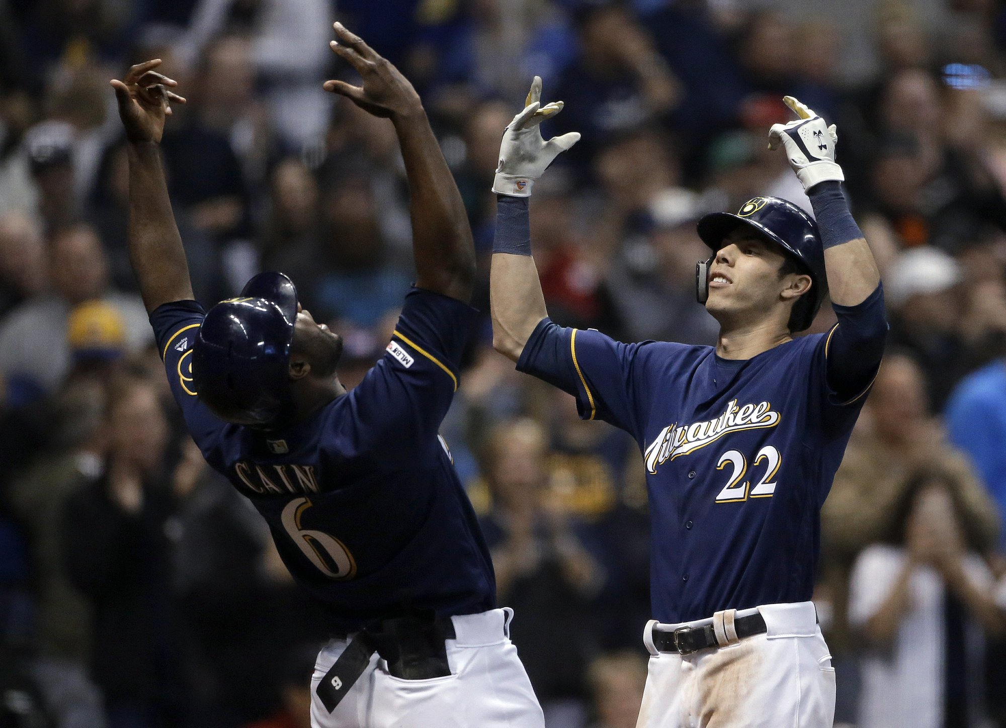 OH YELI: Reigning NL MVP hits another 3-run bomb, as Brewers roll past Cards