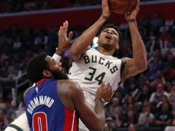 Bucks GIannis over Drummond AP