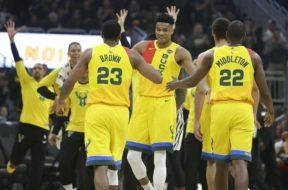 Bucks celebrate AP