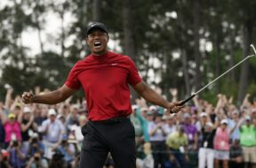 Tiger Woods Masters win AP