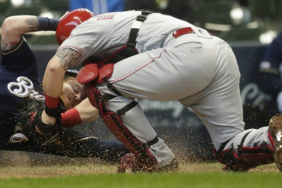 Brewers Gamel slide AP
