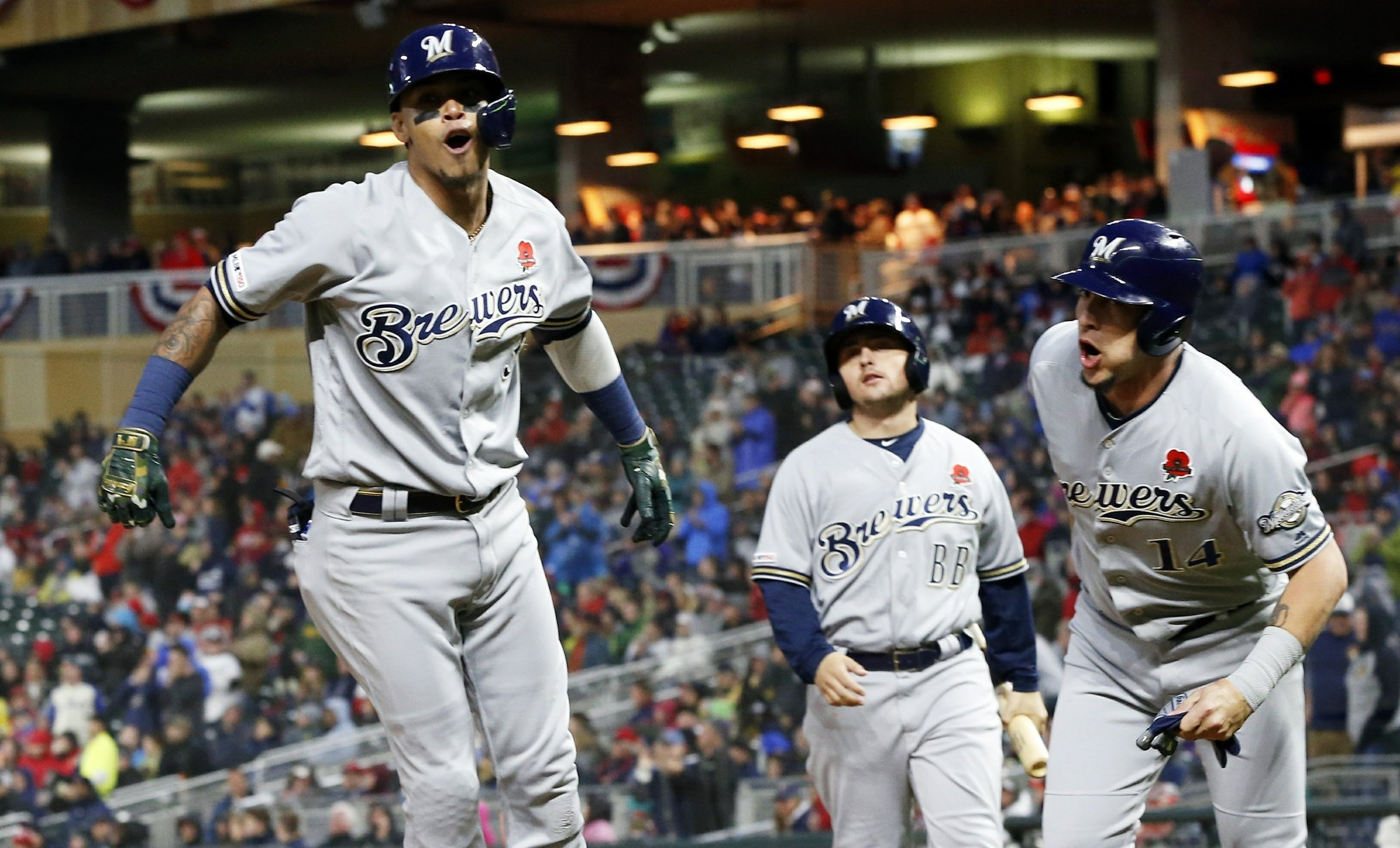 Streaky Brewers host offensive juggernaut Minnesota for two-game series