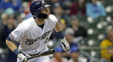 Brewers Yelich AP