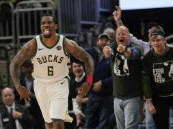 Bucks Eric Bledsoe tongue AP