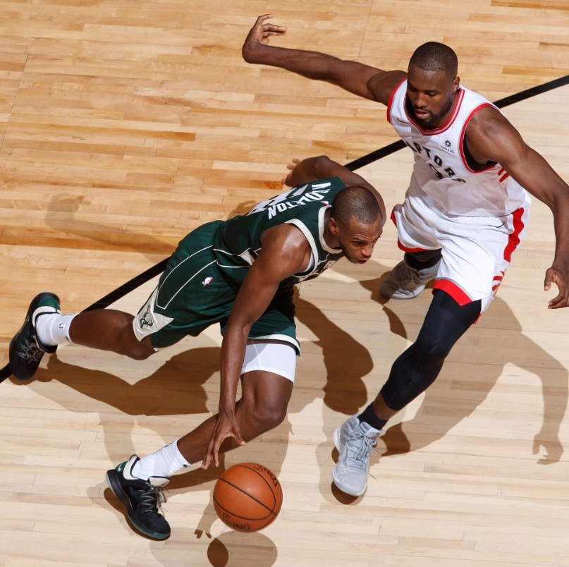 Two-man Bucks can't catch Raptors, who even series 2-2