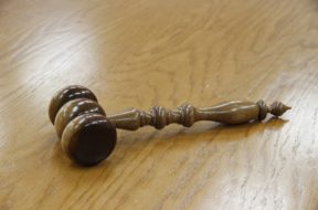 Courtroom gavel file generic