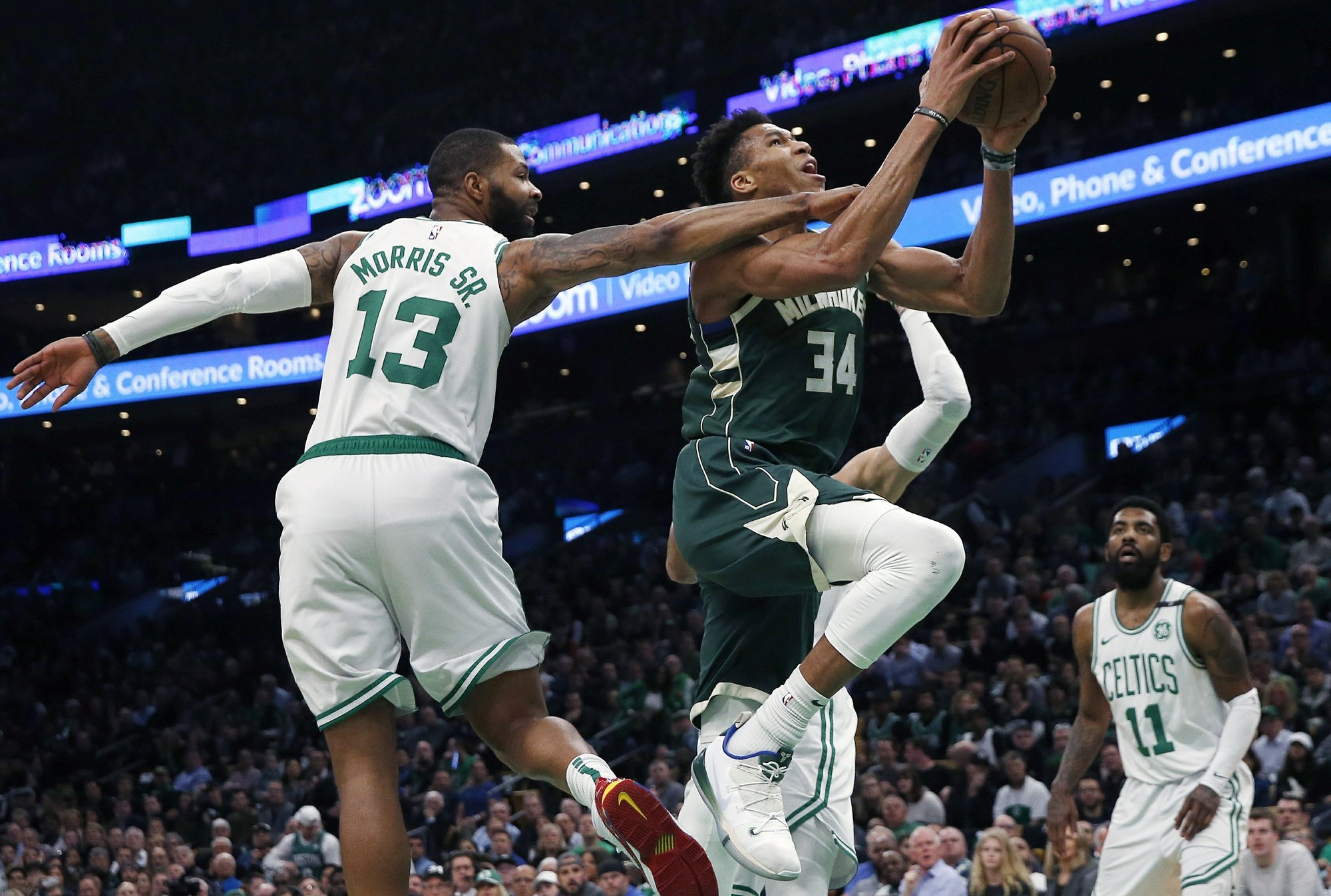 Giannis has 39, Bucks beat Celtics 113-101, lead series 3-1