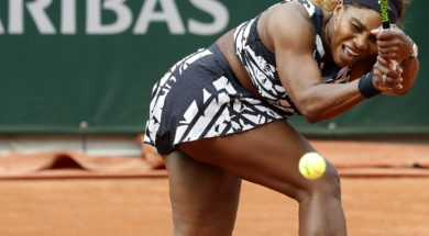 Serena Williams French Open AP