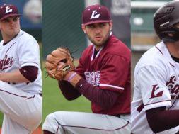 UWL Connor Cook, Zach Pronschinske, Carson Youngquist