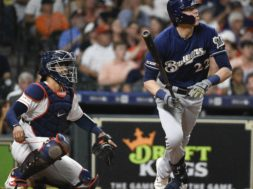 Brewers Christian Yelich HR Astros