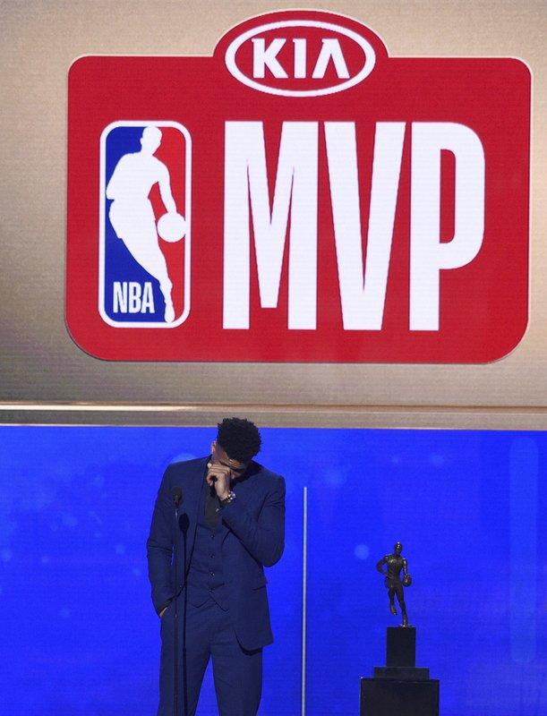 "WATCH: MVP Giannis Antetokoumpo's ""origins"" story"