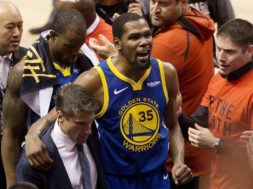 Kevin Durant injured AP