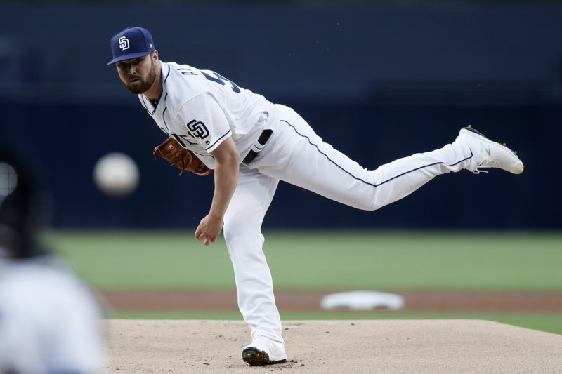 Padres rookie shuts down Brewers in first MLB appearance