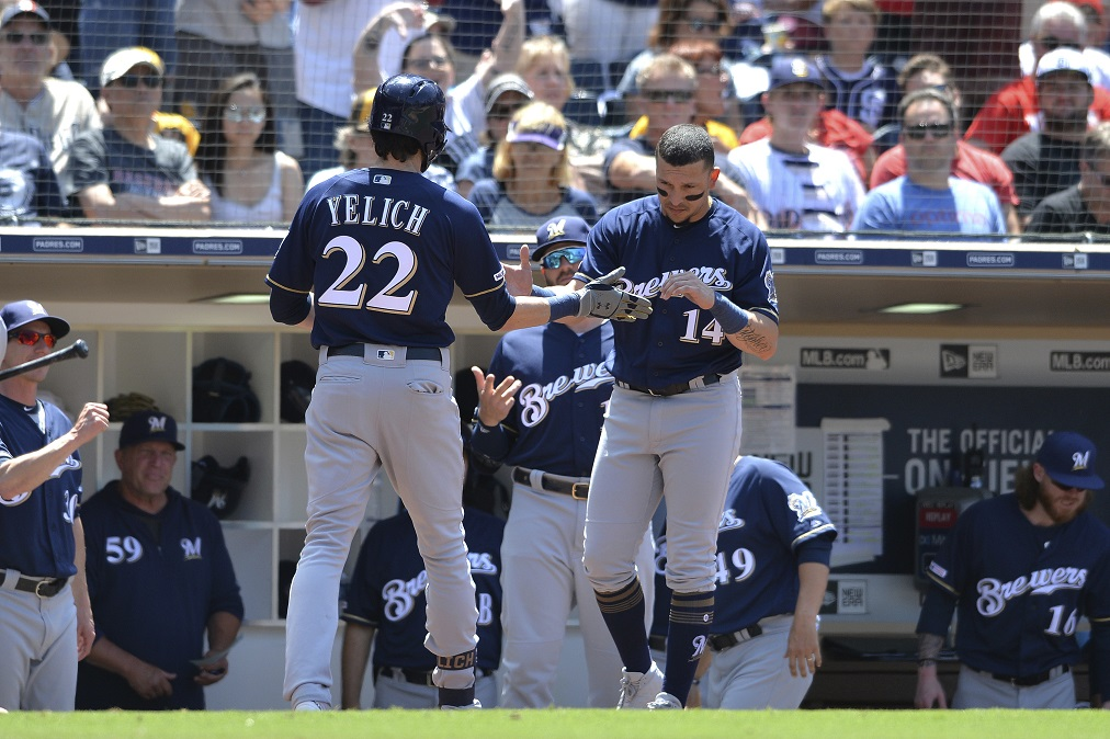 Yelich homers but Brewers swept by Padres. Milwaukee headed back to Miller Park after 2-6 road trip