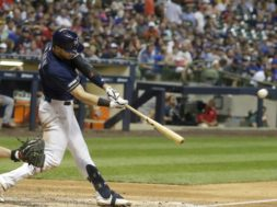 Brewers Ryan Braun swing AP