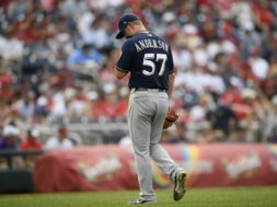 Brewers Chase Anderson slumping AP
