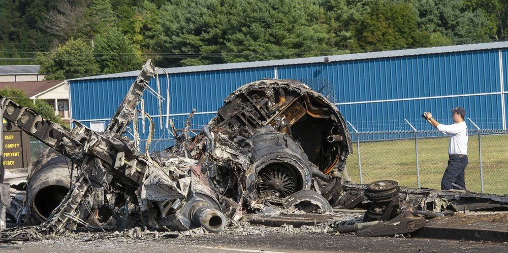 UPDATE: Investigators: Earnhardt's plane bounced, went off runway