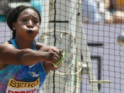 Olympics Gwen Berry AP