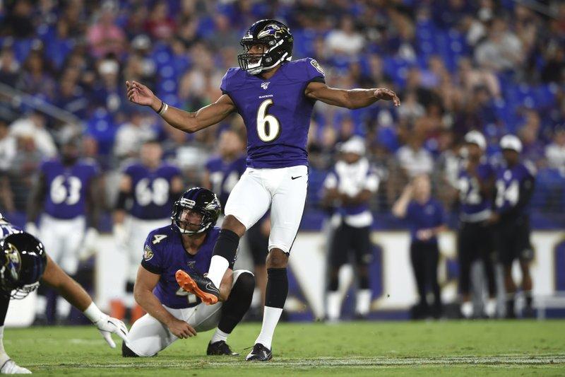 Vikings get kicker/punter Kaare Vedvik in trade with Ravens