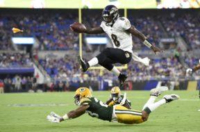 Ravens Lamar Jackson AP