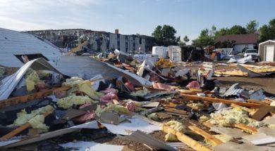 South Dakota storm damage AP