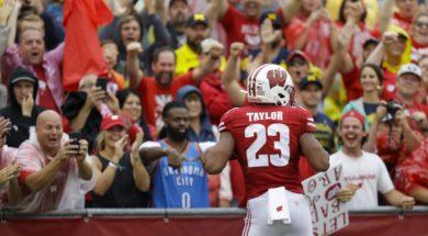 Badgers Jonathan Taylor AP
