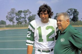 Jets Joe Namath 70s AP