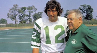 Jets Joe Namath 70s AP