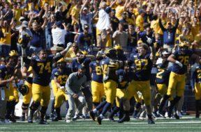 Michigan Football Brad Bredeson AP