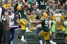 Packers Kevin King INT Vikings AP