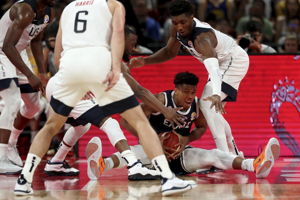 USA Basketball relying on defense so far at World Cup