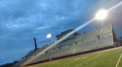 UWL Memorial Field football