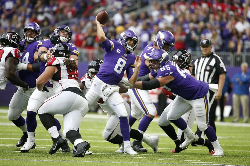 Kirk Cousins was an old-school quarterback in Vikings opener