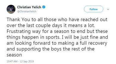 Yelich Tweet