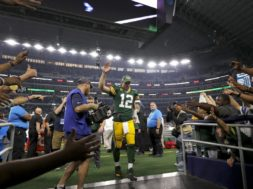Aaron Rodgers after Dallas win AP