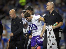 Adam Thielen injured AP