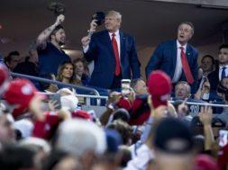 Donald Trump World Series AP
