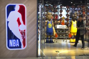 NBA China store AP